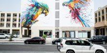 بالصور| مدينة دبي تزدان بمجموعة من الرسومات المذهلة