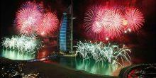دبي الأعلى تكلفةً في احتفالات رأس السنة