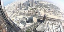 شاهد من السماء أبرز المعالم السياحية لمدينتي أبوظبي ودبي