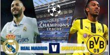 اليوم .. مواجهة نارية بين ريال مدريد ودورتموند لحسم صدارة المجموعة السادسة بالشامبيونز