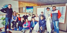 شابان إماراتيان ضمن رحلة استكشافية إلى القطب الجنوبي