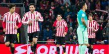 بالفيديو: أتلتيك بيلباو بتسعة لاعبين يضرب برشلونة في كأس ملك إسبانيا