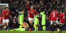 بالفيديو: إبراهيموفيتش يحرم ليفربول من الفوز أمام اليونايتد