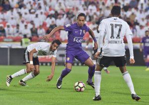 العين والنصر كأس رئيس الدولة الإماراتي 2017