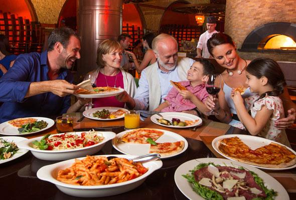 مطعم روندا لوكاتيللي الإيطالي