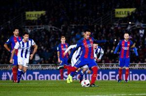 نيمار برشلونة وريال سوسيداد كأس الملك دور 8 2017