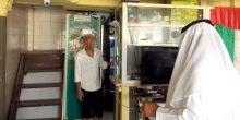 بلدية أبوظبي تصدر 210 مخالفة لمنشآت استغلت السدات العلوية لسكن العمال
