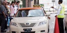 طرق دبي | إلزام شركات التاكسي بمثبت السرعة