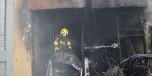 أبوظبي | إنقاذ 6 أشخاص حاصرتهم النيران في فيلا