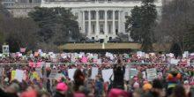 مليونا متظاهر احتجاجا على خطاب ترامب الشعبوي