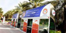 طرق دبي | إرساء عقد المرحلة الثانية لتنفيذ 400 مظلة لركاب الحافلات