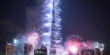 بث مباشر | بداية الألعاب النارية في دبي