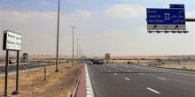 الشارقة | تخفيض السرعة على طريق مليحة إلى 100 كم