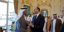 بالصور | محمد بن زايد يستقبل وزير الخارجية الإيطالي