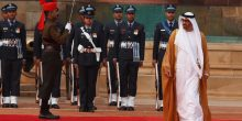 بالفيديو   مراسم استقبال محمد بن زايد في نيودلهي