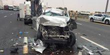 الآسيويين يتصدرون قائمة ضحايا الحوادث المرورية في الشارقة