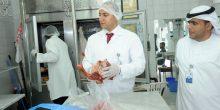 جهاز أبوظبي للرقابة الغذائية يتلف 56 كلغ من الأغذية واللحوم الفاسدة