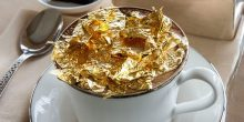 فندق أرماني دبي يقدم قهوة بالذهب الخالص