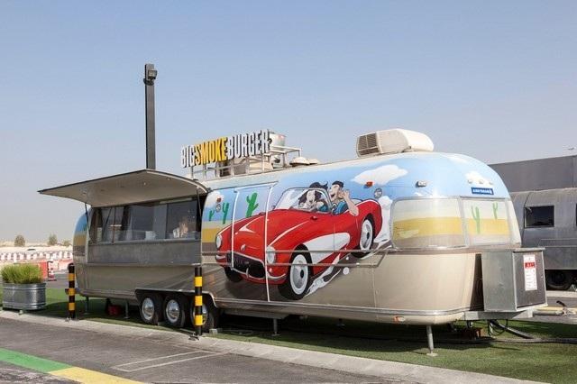 شاحنة Big Smoke Burger