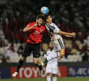 الريان القطري والوحدة الإماراتي  أبطال آسيا 1 مجموعة 4 2017