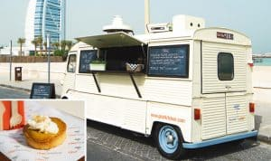 GHAF Kitchen  Shoot for Best Food Trucks in Dubai GHAF Kitchen held at Jumeirah Beach on September 03, 2015 Dubai UAE Photo by Lester Apuntar/ITP Images;03-09-15 Ghaf Kitchen TOD