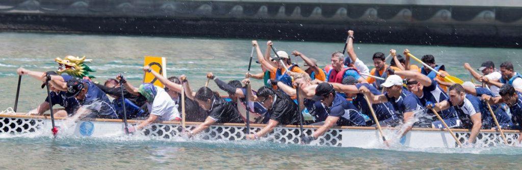 مهرجان دبي مارينا لقوارب التنّين