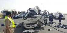 دبي | 1163 حادثا مروريا خلال يومين