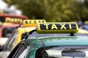 Taxis of Dubai, Dubai, United Arab Emirates, September2, 2008 (photo by Leila Cranswick/ITPImages}