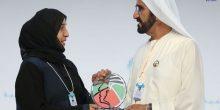 محمد بن راشد يكرم أفضل معلم في الإمارات