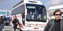 بالفيديو | حافلة أردوغان تدهس حارسه الشخصي