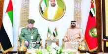 بالصور | محمد بن راشد يستقبل رئيس أركان الجيش الجزائري ورئيس ريلاينس