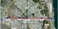 البنية التحتية   تطوير طريق حمد بن عبد الله بالفجيرة