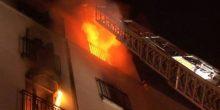 عجمان | إخماد حريق في شقة سكنية