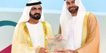 محمد بن راشد يشيد بعمل دبي القابضة