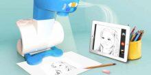 بالفيديو | جهاز عرض ذكي يعلم طفلك مهارة الرسم