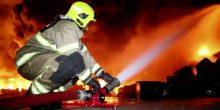 الشارقة | شقة تحترق بالكامل دون ضحايا بشرية