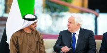 محمد بن زايد ووزير الخارجية الأميركي يتبادلان وجهات النظر هاتفيا حول مستجدات المنطقة
