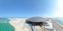 أبوظبي | إنشاء متحف اللوفر يدخل المرحلة النهائية