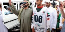بالصور   محمد بن راشد يشرف على كأس رئيس الدولة للقدرة