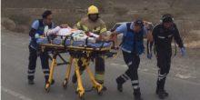 حادث مروري في وادي الشوكة برأس الخيمة يؤدي بإصابة 10 أشخاص