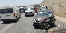 حادث تدهور مركبة في خورفكان يؤدي لإصابة شاب مواطن وفتاة