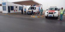 شرطة أبوظبي تنشر نقطتي إسعاف على طريقي السلع والعين