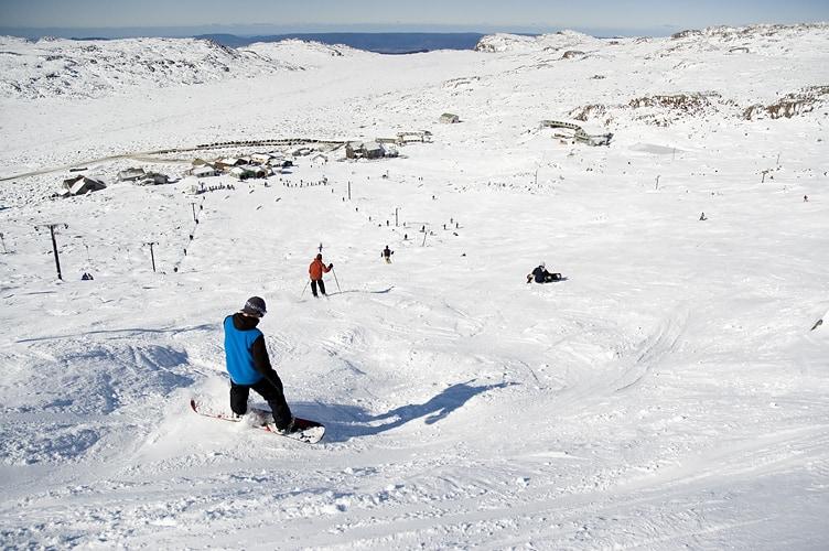 التزلج على الجليد في تسمانيا