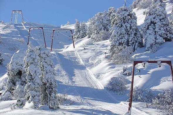 التزلج على الجليد في قبرص