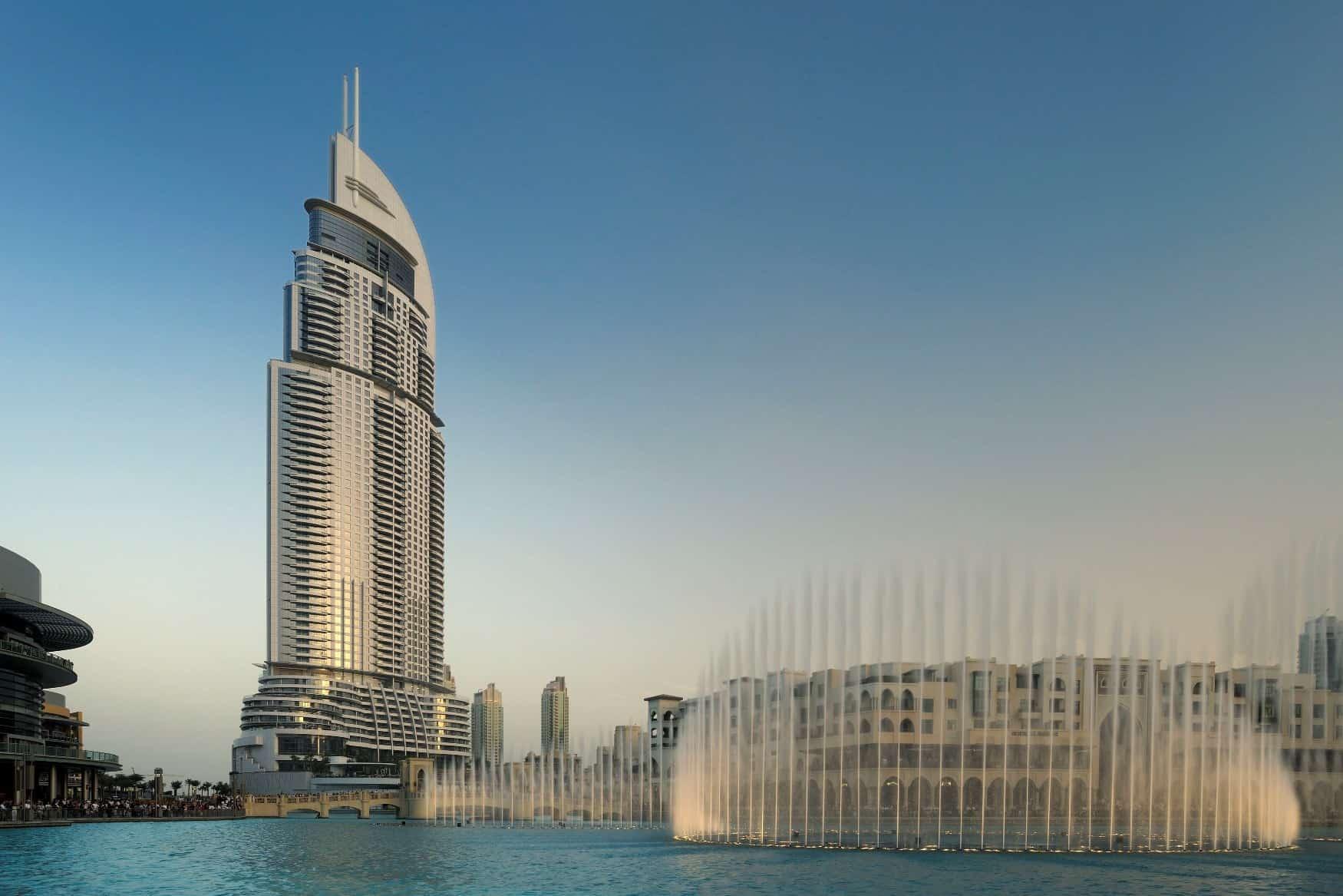 فندق العنوان داون تاون دبي