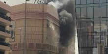 """السيطرة على حريق في مركز """"لامسي بلازا"""""""