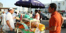 بلدية الفجيرة تشن حملة على سوق الجمعة