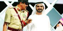 محمد بن راشد يوجه بمنح والدة خميس المزينة وسام شرطة دبي