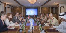 وزارة الدفاع تبحث التعاون مع وفد من المملكة المتحدة