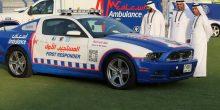 إسعاف دبي | إطلاق أسرع سيارة إنقاذ في العالم